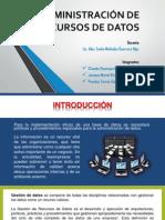 Administración de Recursos de Datos