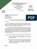 Mark Weingarten Lobbyist Agreement