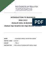 Muslim Idol in Business