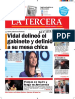Diario La Tercera 03.12.2015