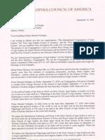 Letter to Erdogan 16Sep2009 En