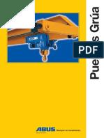 Catalogo Puentes Grua ABUS