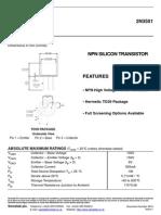 Datasheet 2N3501