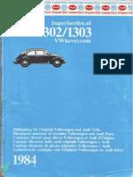 Catalogo Ilustrado de Piezas Originales Volkswagen