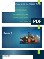 Pozo petrolero del golfo de México (aguas profundas) Kunah 1