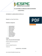 Dilatacion de Solidos Informe