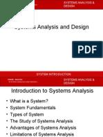 Sad1 System Fundamentals