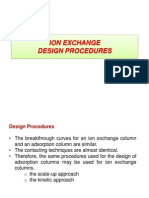 8. Ion Exchange Design Proced
