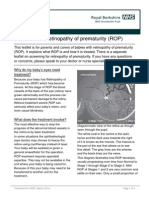 Retinopathy of Prematurity ROP Treatment Mar14