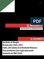 Presentación breve Historia de México