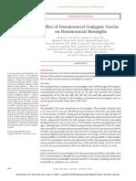 Effect of Pnemococcal Conjugate Vaccine on Pnemococcal Meningitis