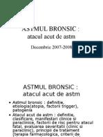 CURSUL NR 7 ASTM BRONSIC ACUT New Microsoft PowerPoint Presentation