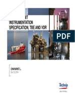 Package Unit Instrumentation Specification_TBE and VDR