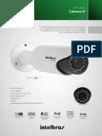 Datasheets Intelbras Câmera IP vip E3220