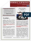 The C4C Federal Exchange Newsletter  (December 2015)