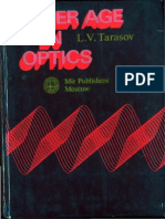 Laser Age in Optics [L.V. Tarasov]