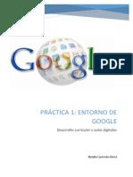 Practica 1- Entorno de Google