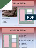 Mekanika Tanah 1 Kuliah 2 2014 2015 Genap