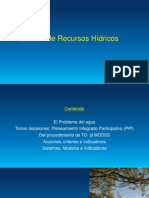 gestion de recursos hidricos