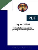 Ley 327-98 Sobre Carrera Judicial 2006