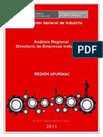 analisis de empresas manufactureras en _apurimac