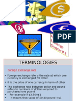 . Foreign Exchange Rate Determination
