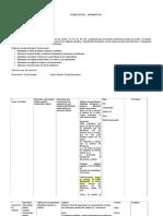 planificación fracciones