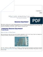 Cloud Seeding Equipment Information Weather Modification Inc Fargo ND Nov 09