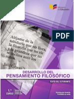 Libro Desarrollo Pensamiento Filosofico