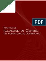 Politica Igualdad Genero Nov 2007