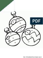 Divisiones - Bolas de Navidad