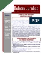 BOLETIN-JURIDICO-No-19 RAD 926 Gobernacion Descargas Industriales