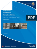 Evaluation of Facilities Handling Tritium Info-0796 e