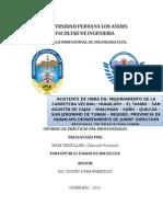 Informe Final de practicas pre profecionales ing. civil
