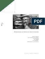 Homenagem ao Professor Décio Pignatari
