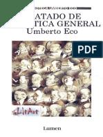 Tratado de Semiótica General - Umberto Eco - JPR504
