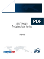ANSI-TIA-606-B - The Updated Labeling Standard - Todd Fries - HellermannTyton