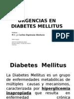 Clase 7.0. Urgencias en Diabetes Mellitus (Print y Resume)