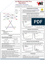 Kovacs Multicommodity Flow Poster HSNWS2009
