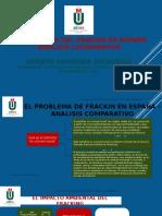 El Problema de Frackin en España – Analisis