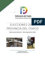 Observación electoral elecciones locales de Chaco 2015 Vf