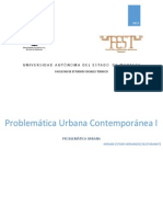 Problemática Urbana Contemporánea I-