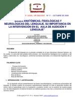 Articulo_Bases Anatomicas Del Lenguaje