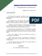 Carta Presentación