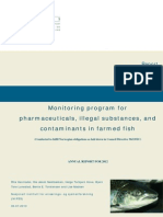 Contaminants Farmed Fish