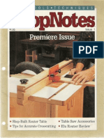 ShopNotes #01 - Shop Built Router Table.pdf