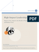 high impact leadership white paper ihi