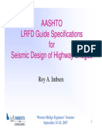 Aashto Seismic Design Guidelines
