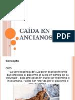 CAÍDA en ANCIANOS Fisiot Geriatria de JSGM
