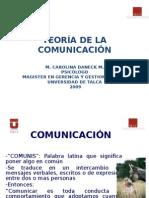 Comunicación Agosto 2009